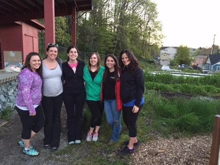 WPIG volunteers at Lettuce Link - April 2015